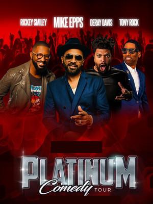 Platinum Comedy Tour Poster