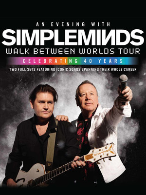 Simple Minds Poster
