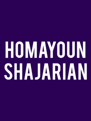 Homayoun Shajarian Poster