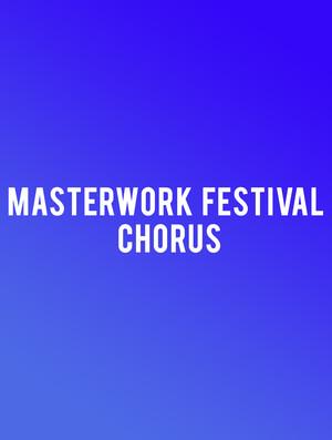 Masterwork Festival Chorus Poster