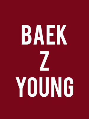 Baek Z Young Poster