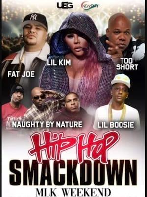 Hip Hop Smackdown Poster