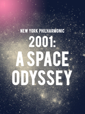 New York Philharmonic - 2001: A Space Odyssey Poster