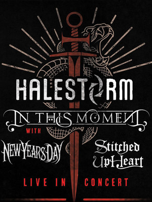 Halestorm and In This Moment Poster