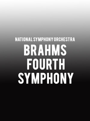 National Symphony Orchestra - Brahms Fourth Symphony at Kennedy Center Concert Hall