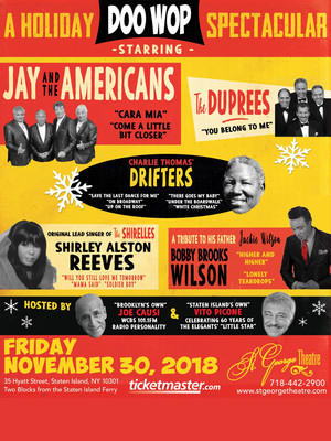 A Holiday Doo-Wop at Bergen Performing Arts Center