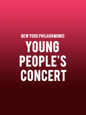 New York Philharmonic - Young People's Concert Poster