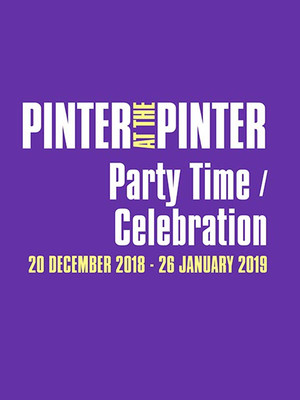 Pinter at the Pinter - Party Time/Celebration Poster
