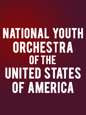 National Youth Orchestra of the United States of America at Isaac Stern Auditorium