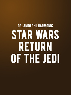 Orlando Philharmonic Star Wars Return of the Jedi, Walt Disney Theater, Orlando
