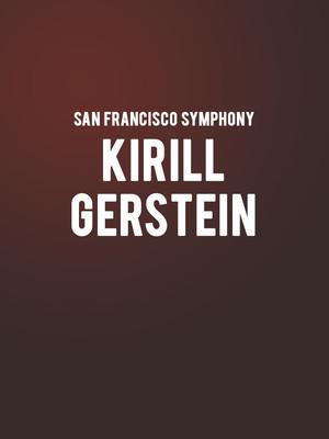 San Francisco Symphony - Kirill Gerstein at Davies Symphony Hall