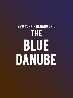 New York Philharmonic - The Blue Danube Poster