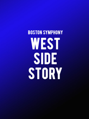Boston Symphony Orchestra - West Side Story Poster