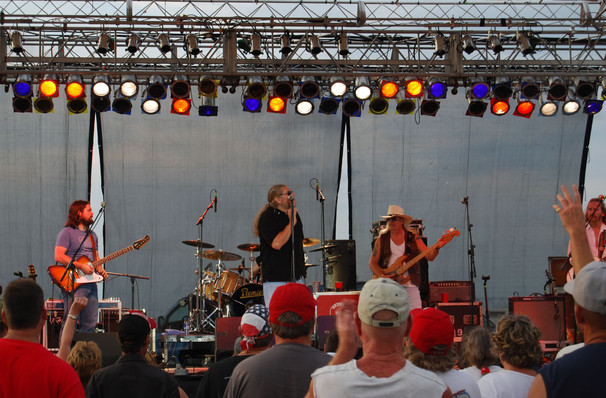 Don't miss Marshall Tucker Band one night only!