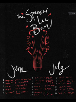 The Spencer Lee Band Poster
