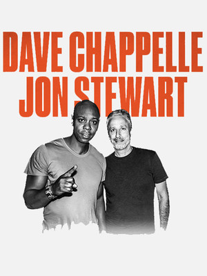 Dave Chappelle and Jon Stewart Poster