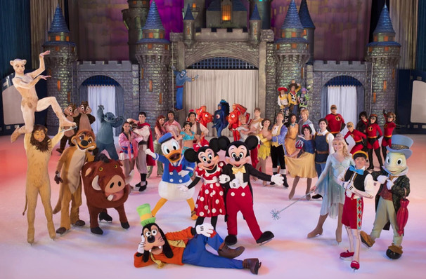 Disney on Ice 100 Years of Magic, Vivint Smart Home Arena, Salt Lake City