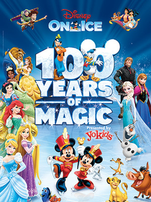 Disney on Ice 100 Years of Magic, VBC Arena, Huntsville