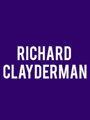 Richard Clayderman at Benaroya Hall