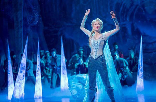 Disneys Frozen The Musical, Pantages Theater Hollywood, Los Angeles