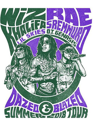 Wiz Khalifa and Rae Sremmurd Poster