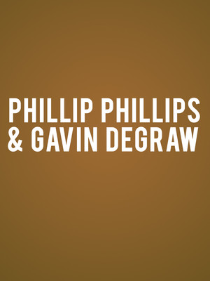 Phillip Phillips and Gavin DeGraw at Pacific Amphitheatre