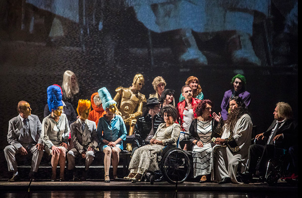 Hungarian State Opera Mario and the Magician and Bluebeards Castle, David H Koch Theater, New York