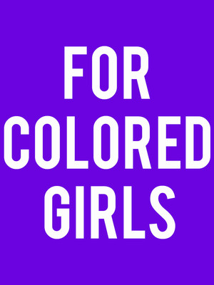 For Colored Girls at Auburn Public Theatre