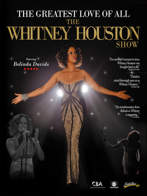 The Greatest Love of All - Whitney Houston Tribute Poster