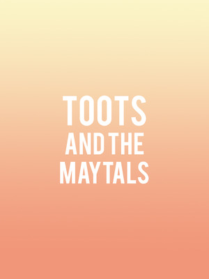 Toots and the Maytals, Revolution Hall, Portland