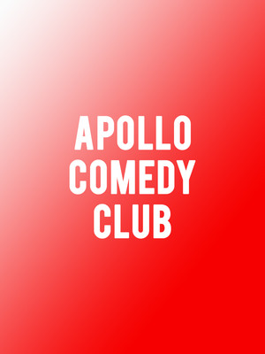 Apollo Comedy Club Poster