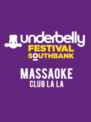 Massaoke Club La La Poster