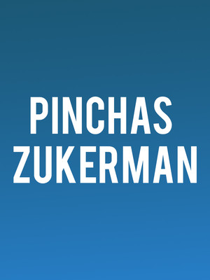 Pinchas Zukerman at Boettcher Concert Hall
