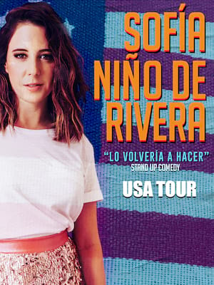 Sofia Nino de Rivera at Plaza Theatre