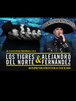Alejandro Fernandez and Los Tigres del Norte at SAP Center