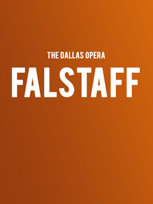 The Dallas Opera Falstaff, Winspear Opera House, Dallas