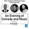 An Evening of Comedy and Music Jerry Seinfeld Leslie Jones and John Legend, Isaac Stern Auditorium, New York