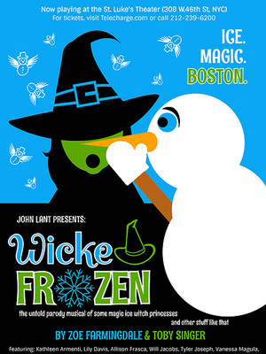 Wicked Frozen - A Musical Parody Poster