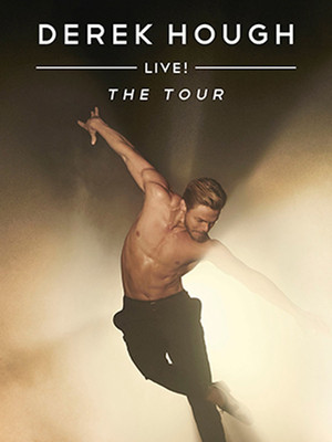 Derek Hough at North Charleston Performing Arts Center