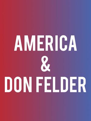 America and Don Felder Poster