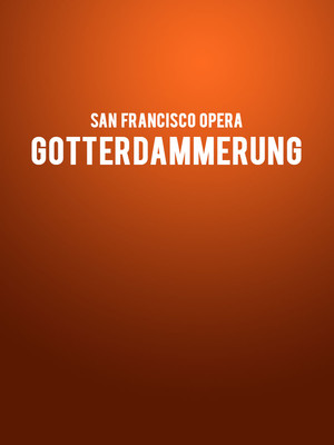 San Francisco Opera Gotterdammerung, War Memorial Opera House, San Francisco