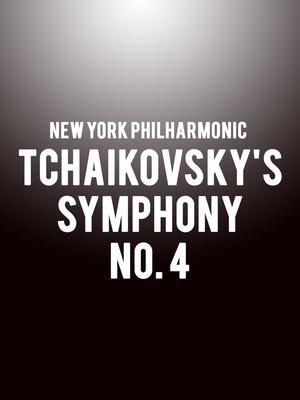 New York Philharmonic - Tchaikovsky's Symphony No. 4 Poster