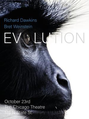 Richard Dawkins and Bret Weinstein Poster