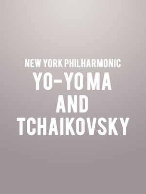 New York Philharmonic - Yo-Yo Ma and Tchaikovsky at David Geffen Hall at Lincoln Center