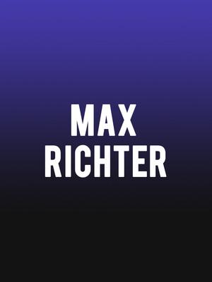 Max Richter Poster