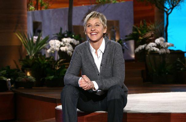 Ellen DeGeneres, Davies Symphony Hall, San Francisco