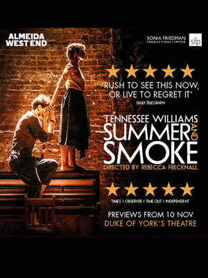Summer and Smoke at Duke of Yorks Theatre