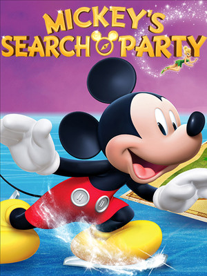 Disney on Ice: Mickey's Search Party Poster