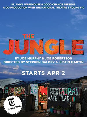 The Jungle at St Anns Warehouse