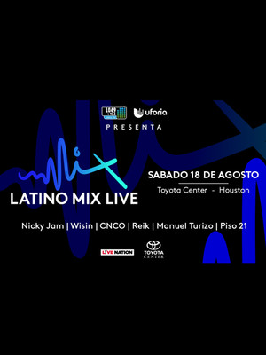 Latino Mix Live at Dos Equis Pavilion